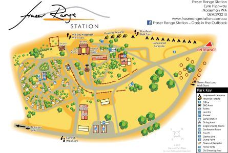 holiday park maps