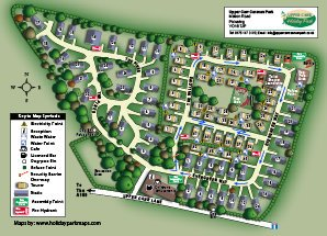Caravan Park 3d Plan and Map
